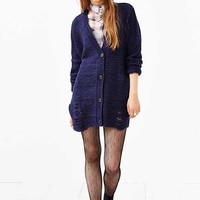 Pins And Needles Grunge Cardigan-