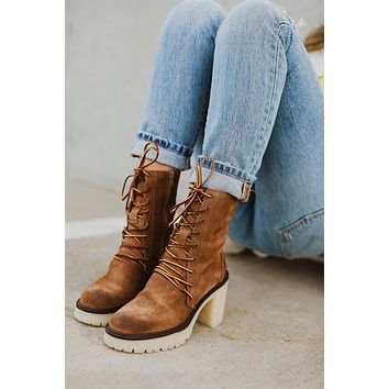Free People: Dylan Lace Up Boot