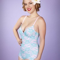Ehhh Lucy Underwire One Piece Swimsuit