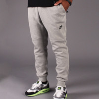 Nike Tech Fleece Pant 1MM (Dark Heather Grey/Black)