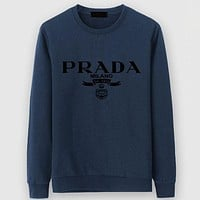 Boys & Men Prada Casual Edgy Long Sleeve Sweater