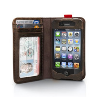 Vintage Leather iPhone Case and Wallet