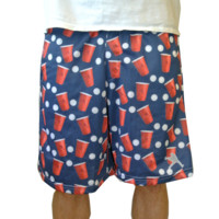 Lax Unlimited BEER PONG Lacrosse Shorts | Lacrosse Unlimited