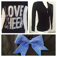 Love Cheer Jacket and Cheer Bow Package