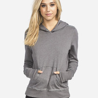 Fox Promote Womens Hoodie Charcoal  In Sizes