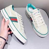 GUCCI Popular Women Casual Classic Stripe Sneakers Sport Running Shoes