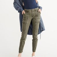 Womens Military Super Skinny Jeans | Womens New Arrivals | Abercrombie.com