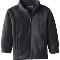 Columbia Baby Boys' Steens Mt II Fleece, Charcoal Heather, 12 18 Months
