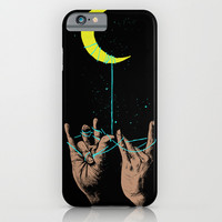 MOON iPhone & iPod Case by GENO75