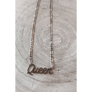 All Hail The Queen Gold Necklace