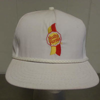 Vintage 80's Holly Farms Chicken Minimal Snap Back Dad Hat Made in USA Racing