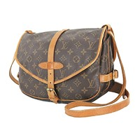 Tagre™ Authentic LOUIS VUITTON Saumur 30 Monogram Crossbody Shoulder Bag Purse #26646