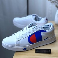 Champion White Leather Casual Shoes