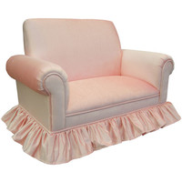 Angel Song 121020166 Aspen Pink Child Club Loveseat