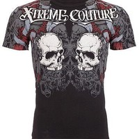 Licensed Official Xtreme Couture AFFLICTION Mens T-Shirt REDEMPTION Tattoo Biker MMA UFC M-4XL $40