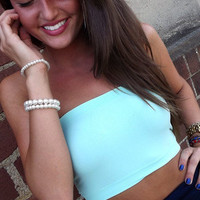 Turquoise Bandeau   The Rage