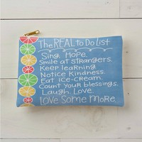 The Real To Do List'