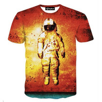 Red Space Tee