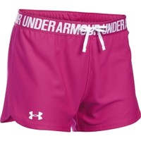 Under Armour Women's Power In Pink Favorite Play Up Shorts | DICK'S Sporting Goods