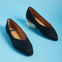 Minimalist Bliss Ballet Flat in Black