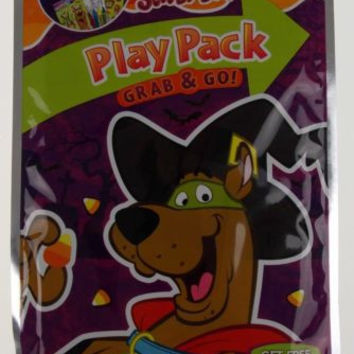 Scooby Doo Play Pack Grab & Go Set 13 Coloring Books Crayons Stickers Halloween
