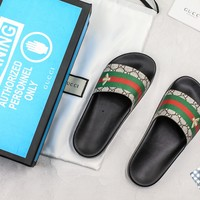Gucci Slide Sandal With Blue Box Style #7 - Best Online Sale