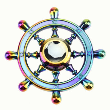 Rainbow Fidget Spinner- Sailor