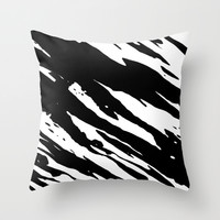 Trippy Panda 4 Throw Pillow by HappyMelvin Graphicus