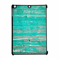 Teal Wood iPad Air Case