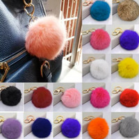 Fur Keychain ALL COLORS