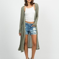 Buttoned Front Cardigan