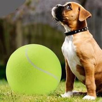 24CM Giant Tennis Ball For Pets