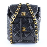 Lambskin Quilted Backpack 1CR1218