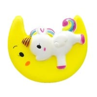 Enormous Moon Unicorn Scented Squishy Charm Slow Rising Simulation Kid Toy