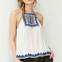 Ecote Bali Embroidered Tank