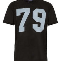 BLACK 79 MESH T-SHIRT - Men's T-shirts & Tanks  - Clothing