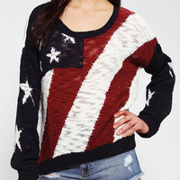 Urban Outfitters - Coincidence & Chance Americana Pullover Sweater