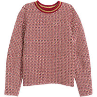 Jacquard-knit Sweater - from H&M