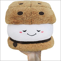 Mini Squishable Smore: An Adorable Fuzzy Plush to Snurfle and Squeeze!