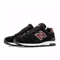 New Balance - 1400 Heritage - Made in the USA - Black with Burgundy