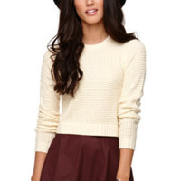 LA Hearts Long Sleeve Cropped Sweater at PacSun.com