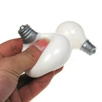 Squeezable Light Bulb Stress Reliever