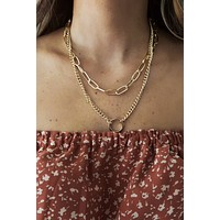 Dream Lover Necklace: Gold