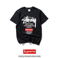 Cheap Women's and men's supreme t shirt for sale 501965868-0109