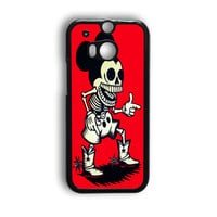 Mickey Mouse Wooden HTC One M8 Case