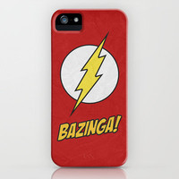 Bazinga! Poster 01 iPhone Case by Misery | Society6