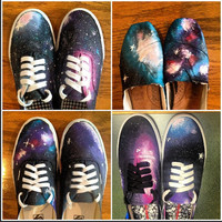 Custom Galaxy Shoes by ImagineShoes on Etsy