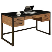 You should see this Eldridge Computer Desk in Black on Daily Sales!