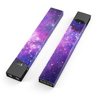 Purple & Pink Space - Premium Decal Protective Skin-Wrap Sticker compatible with the Juul Labs vaping device