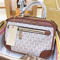 MK New Fashion More Letter Leather Shopping Leisure Shoulder Bag Handbag Crossbody Bag